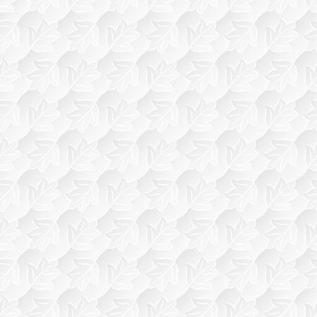 tessellate: Neutral White Leafy Texture