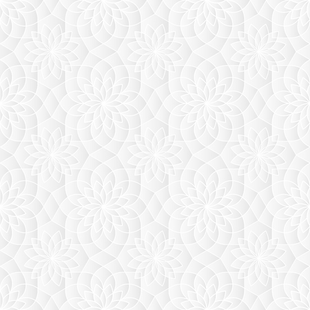 tessellate: Neutral White Sacred Geometry Texture