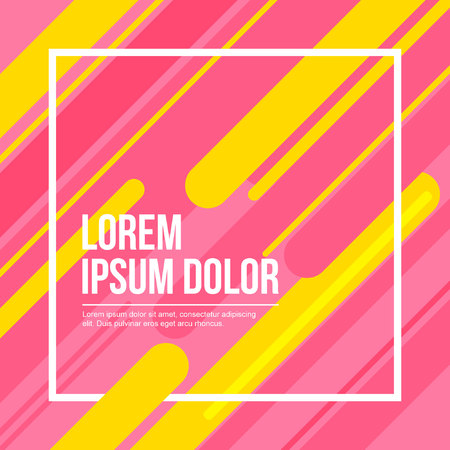 pink and yellow abstract background