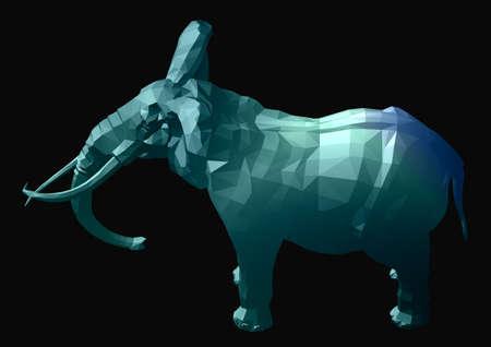 Glassy elephant