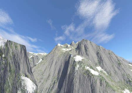 rock layer: Mountains