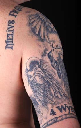Bras tatoué Young Man's