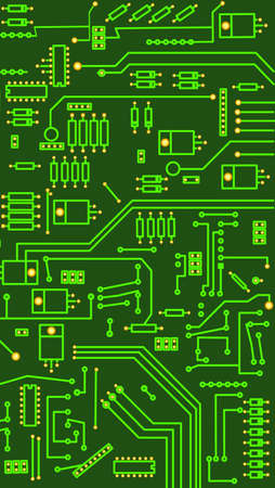 Electronic circuitr photo
