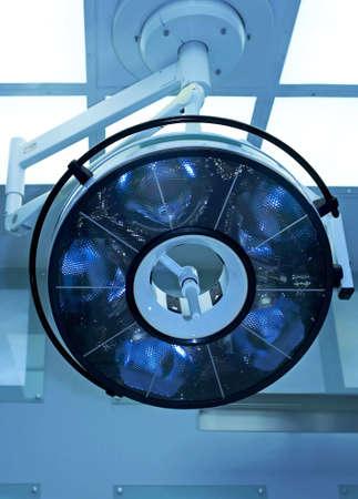 medical ventilator: Operating theater Stock Photo