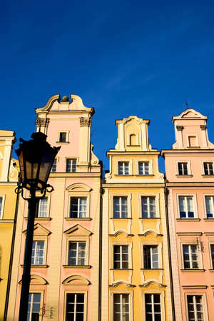 Historic tenements in Wroclaw Poland Stock Photo - 3767542