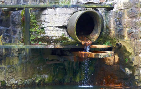 filthiness: Sewage pipe