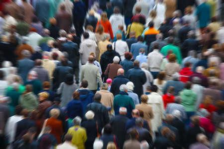 People floue Banque d'images