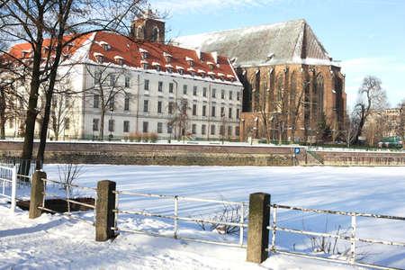 dolnoslaskie: Monument in Wroclaw, Poland