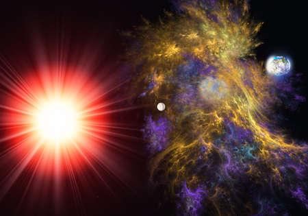 wallpape: Star formation nebula