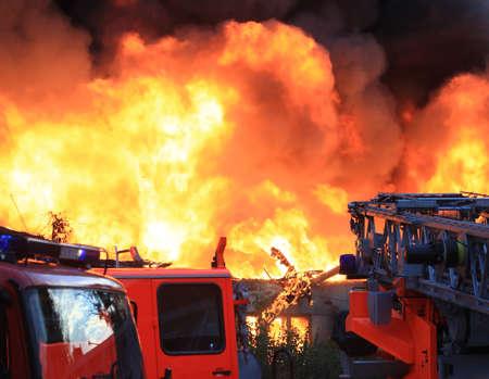 fire brigade: Big fire