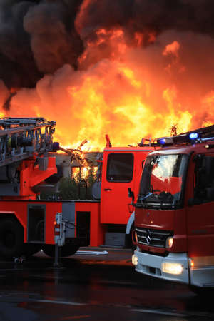 Big fire photo