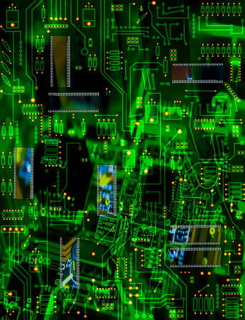 Circuit board Stock Photo - 4658879