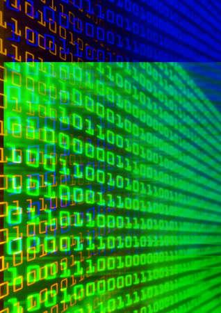 Technological digit backdrop Stock Photo - 4762633