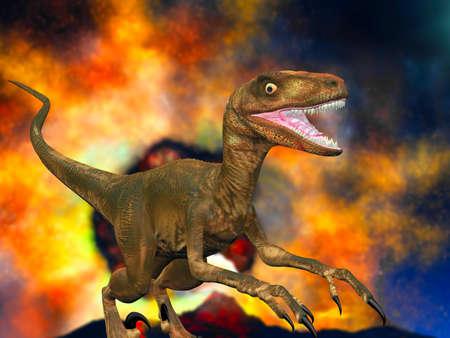 Allosaurus fragilis photo