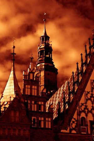 rynek: Rynek in Wroclaw, Poland