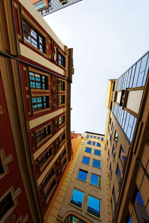 wroclaw: Modern buildings
