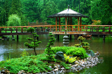 Japanese garden Stock Photo - 6573143