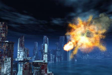blasting: Armageddon in New York