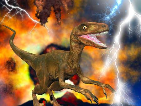 meteors: Allosaurus fragilis