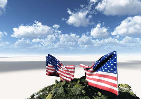 symbolical: American flag