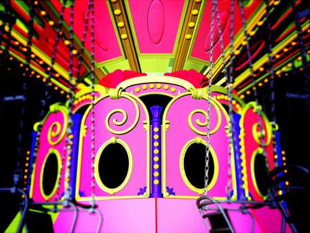 merry go round: Vintage merry go round