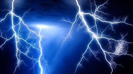 Huge lightning