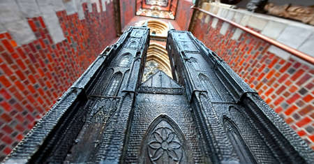 tallness: Miniature of the Cathedral in Wroclaw, Poland