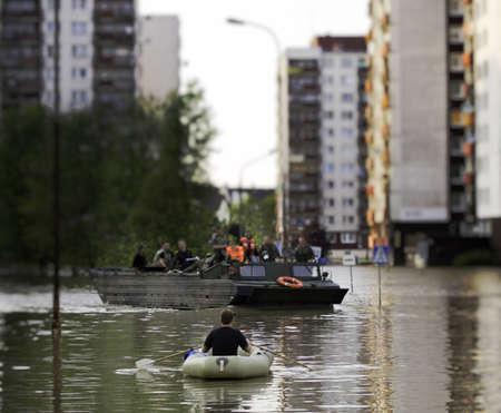 Flut in der Stadt