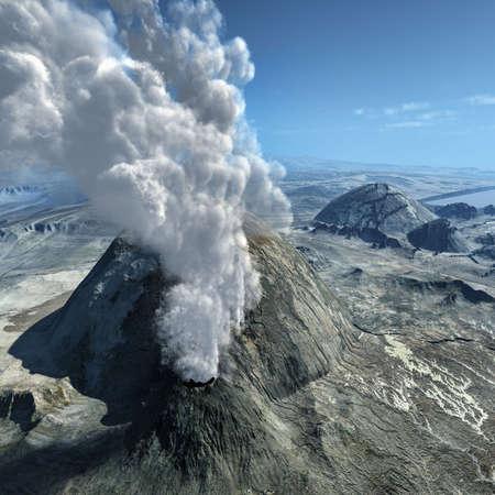 eruptive: Volcanic eruptions