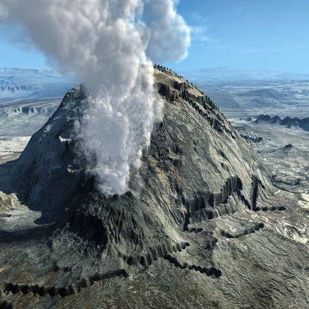 lave: Volcanic eruptions