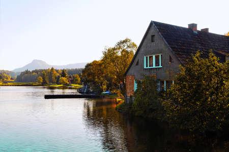 woods lake: Bel paesaggio
