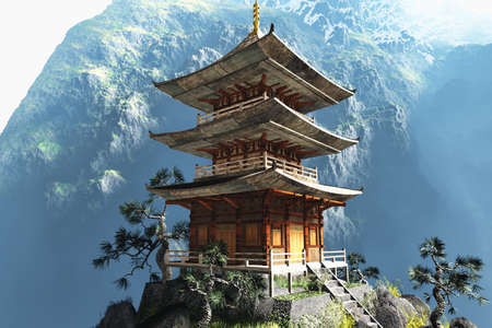 pagoda: Templo de Zen budista