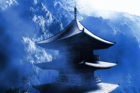 Buddhist Zen Temple photo