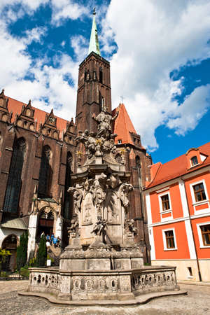 wroclaw: Monuments, Wroclaw in Poland Stock Photo
