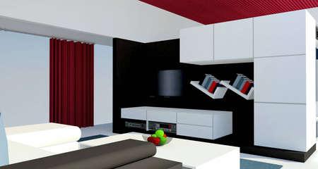 Modern interior Stock Photo - 8532649