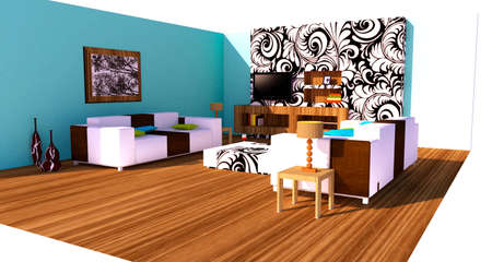 Modern interior Stock Photo - 8532732