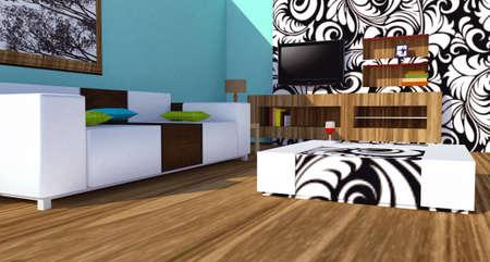 Modern interior Stock Photo - 8532723
