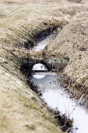 filthiness: Sewage drainage system