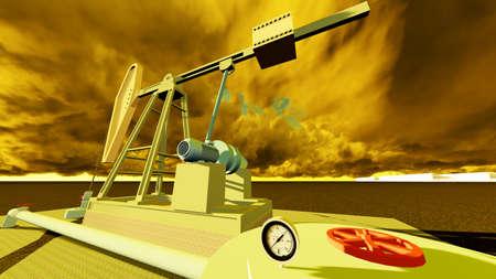 oil pump station photo