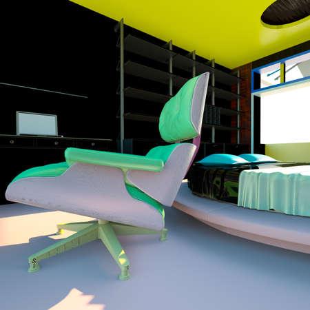 coziness: Modern interior - living room