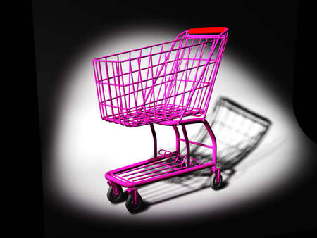Shopping cart Stock Photo - 9648244