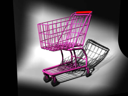 Shopping cart Stock Photo - 9648239