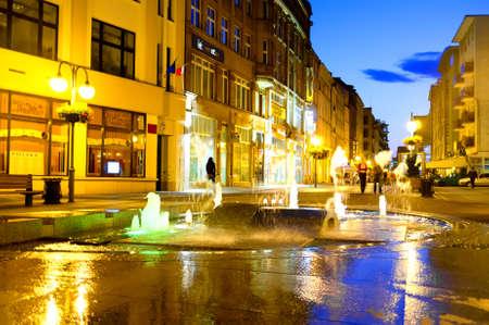 wroclaw: Wroclaw at night Poland