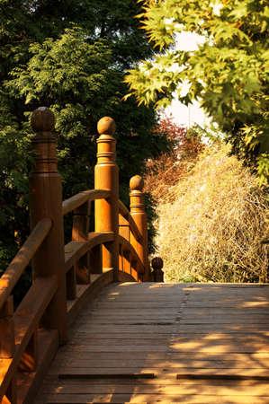 japanese bridge: Japanese bridge Stock Photo