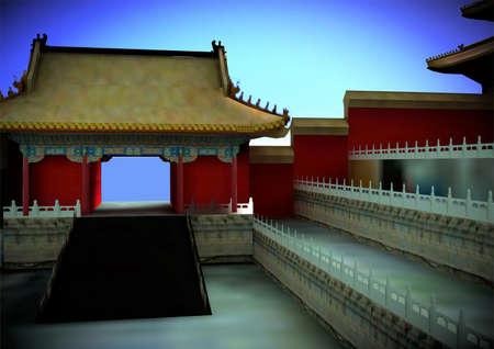 Pagodas japonesas Foto de archivo - 10283941