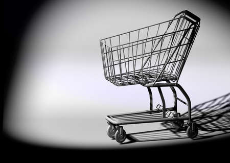 Shopping cart Stock Photo - 10410473