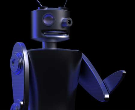Robot - detective photo