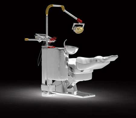 medical clinic: Dental chair