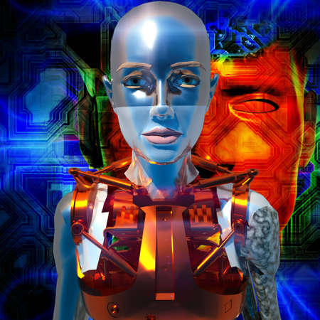 Cyborg Stock Photo - 11485034