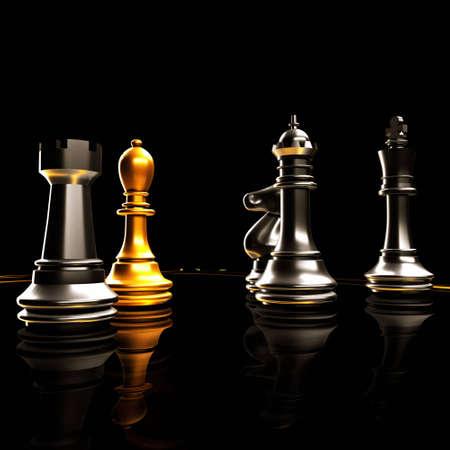 mind game: Chess battle